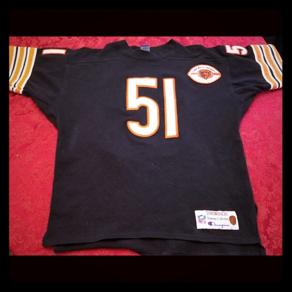 lowest price eb204 f63f0 Authentic Bears Butkus Throwback Jersey